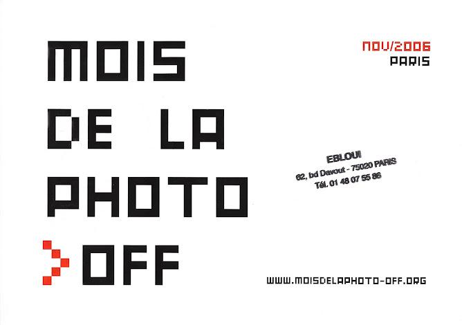 Mois de la Photo, Paris, 2006