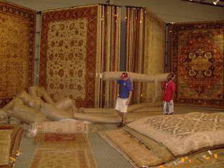 Thousands Of Afghan And Pakistan Rugs Flood Green Front