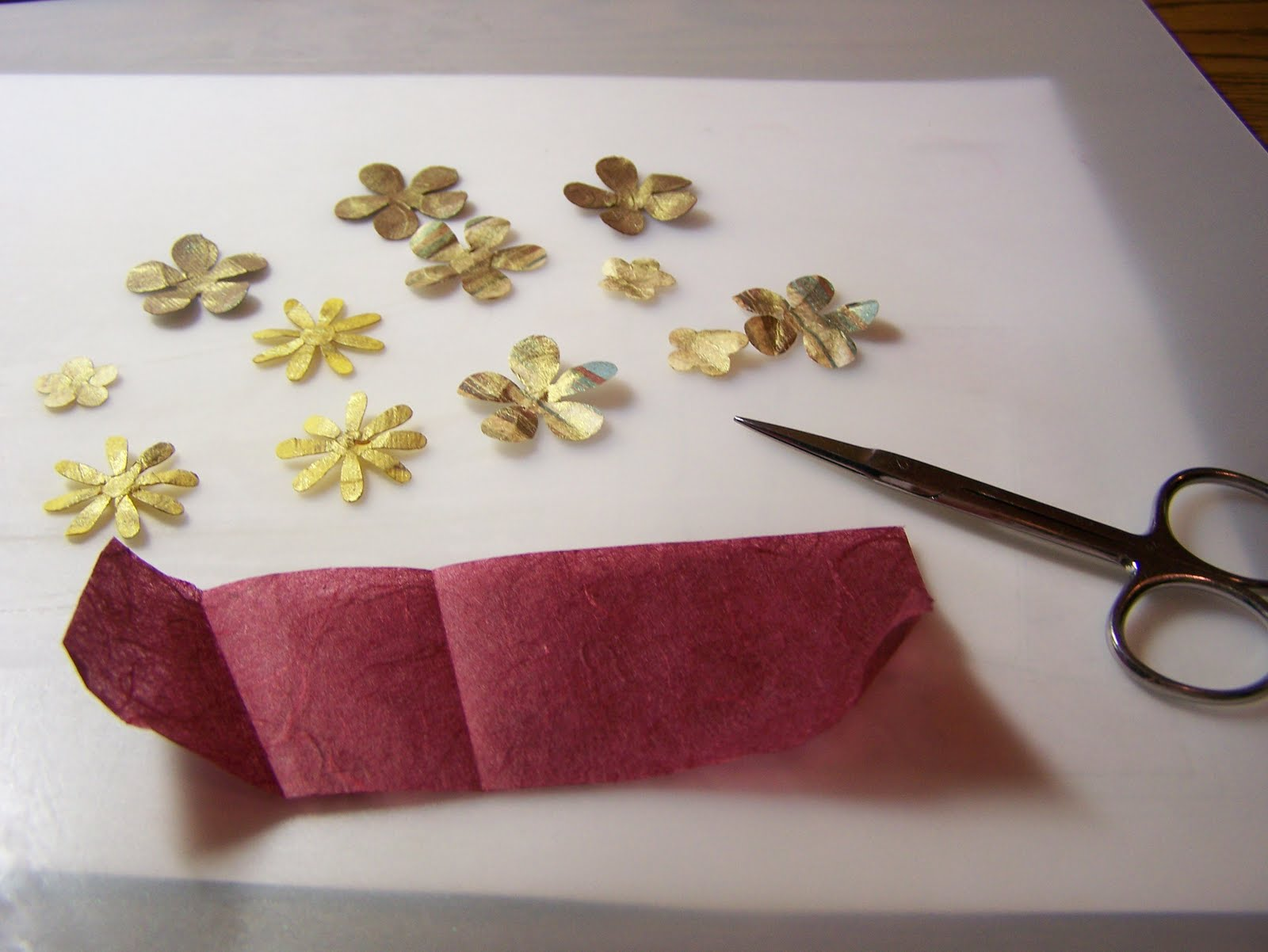 Welcome To My World Making Paper Flowers A Tutorial