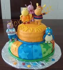 Torta infantil Backyardigans