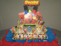 Torta Infantil Hombre Araña