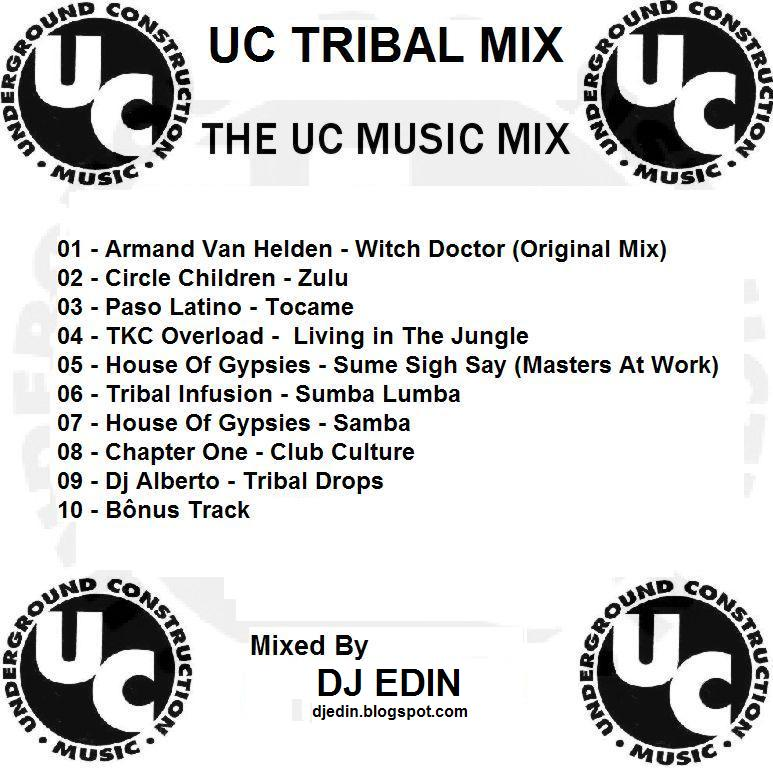 Dj edin uc tribal mix dj edin bh produ es e remixes for Tribal house tracks