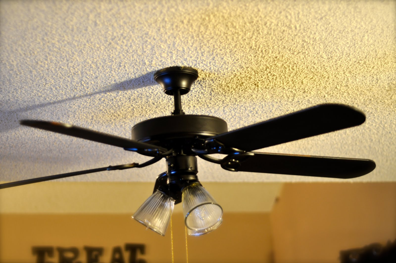 Black Ceiling Fan With Chandelier Light Kit Pro Light