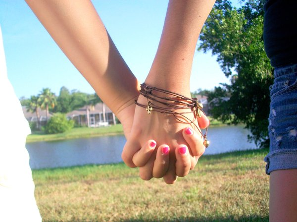 This one s to our friendship  Best Friends Holding Hands Girls