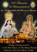Cartel para las hermandades del Socorro y Linares 2009: