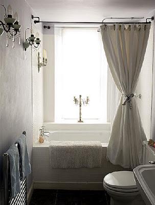 Brabourne Farm: Love .... Pretty Shower Curtains