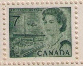 On July 1 1971 The Domestic Letter Increased From 6 Cents To 7 For First Ounce Cent Transportation And Communication Definitive Stamp