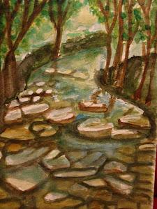 Il fiume e i suoi sassi