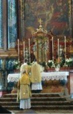 Missa Tridentina.