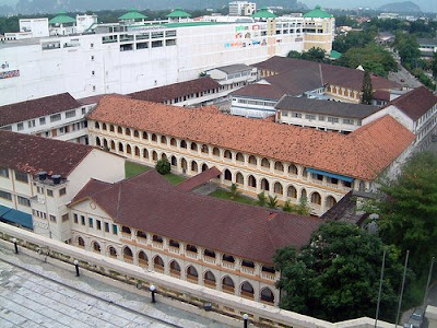 Bird's Eye View of Main Convent
