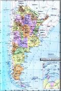 Mapa de Argentina Completo mapa argentina climate