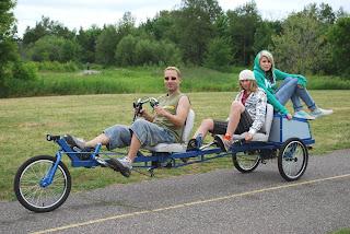 LodeRunner Tandem Trike
