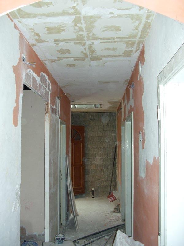 R novation de ma villa faux plafonds du rez de chauss e for Faux plafond colle