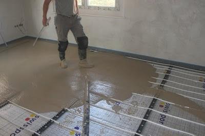 R novation de ma villa chauffage au sol et chape - Epaisseur d une chape beton ...
