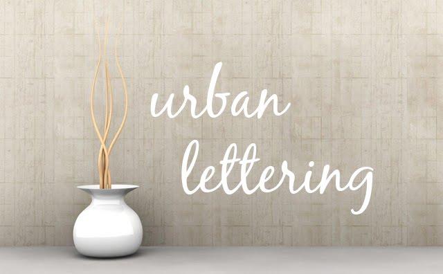 Urban Lettering