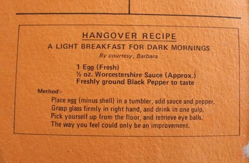 Harston CWA Recipe Book
