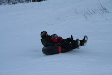 Christmas Eve Sledding at Centenial Park in Anchorage
