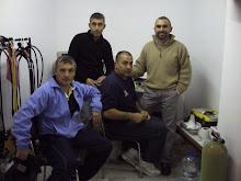 MANOLO,LUIS,MAQUI Y JESUS