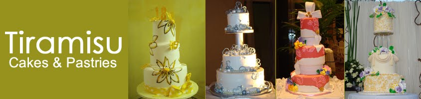 Tiramisu Cakes and Pastries - Wedding Cakes in Pampanga