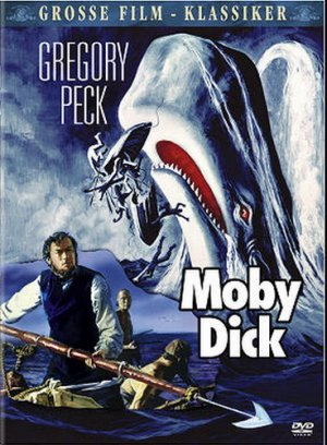 Moby Dick (1956) affiche