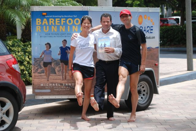 Feel Good Eating: Thank you and Barefoot Running