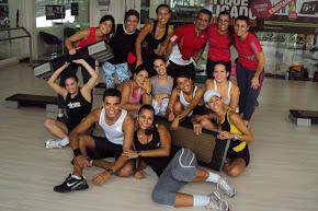 Equipe reserva no curso postural com Karla Gouveia
