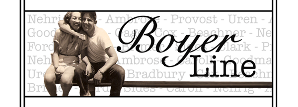 The Boyer Family Website/Blog