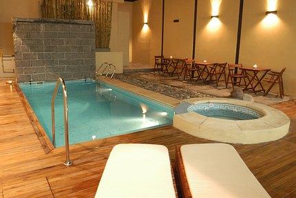 Dise o patios for Patios con piscinas desmontables