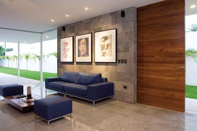 casas minimalistas y modernas las nuevas propuestas en muros On muros minimalista interiores
