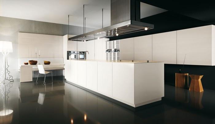 Casas minimalistas y modernas cocinas con grandes islas - Cocinas grandes modernas ...