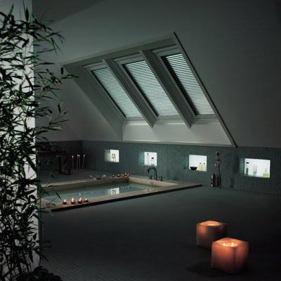 la clave de una buhardilla bien lograda y moderna es la iluminacion hoy dia es posible lograr estos ambientes con la colocacion de ventanas especiales en - Buhardillas Modernas