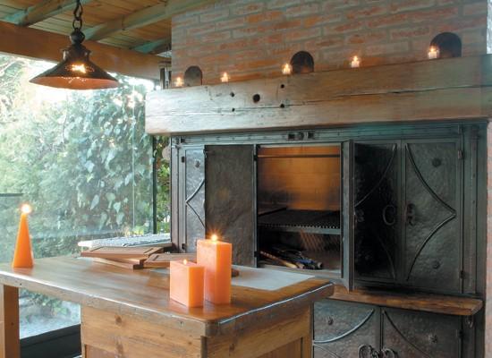 decoracion interior de quinchos rusticos : decoracion interior de quinchos rusticos:ESTILO RUSTICO: ARREGLOS CON VELAS