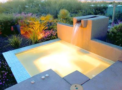 Estanques y cascadas las cascadas en piscinas for Disenos de cascadas para piscinas