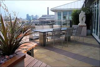 Casas minimalistas y modernas terrazas modernas - Minipiscinas para terrazas ...