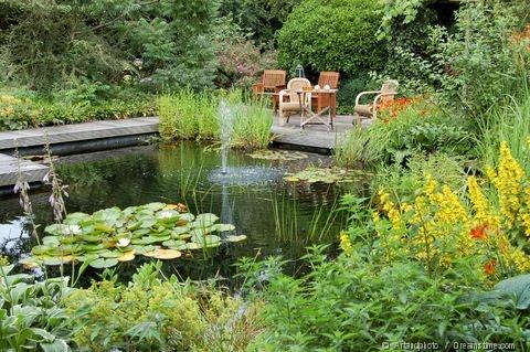 Estanques y cascadas nuevos estanques for Gartenbrunnen anlegen