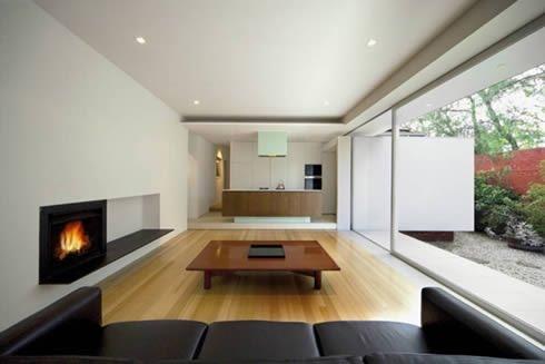 Casas minimalistas y modernas hogares modernos for Decoracion de departamentos minimalistas