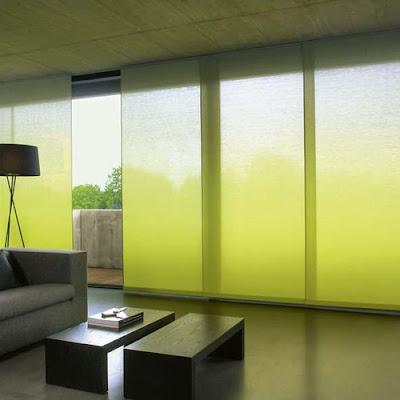 Casas minimalistas y modernas cortinas de paneles orientales for Tende casa minimalista