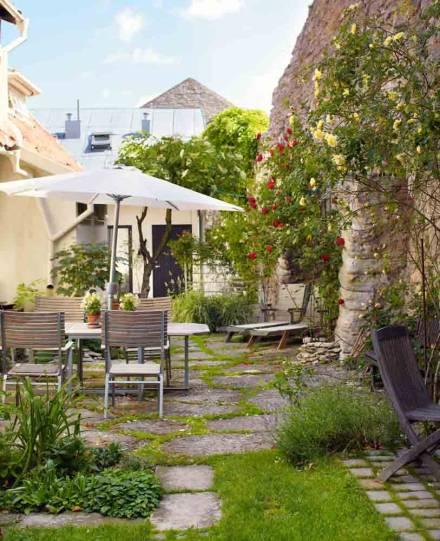 Estilo rustico jardines rusticos - Jardines con estilo ...
