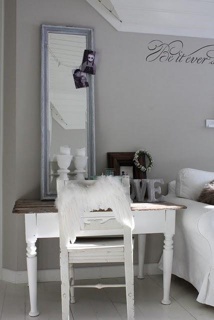Estilo rustico armonia perfecta de color plomo y blanco for Color plomo