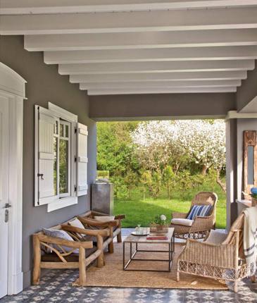 Estilo rustico porches rusticos - Porches de madera cerrados ...