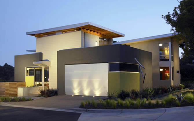 casas minimalistas y modernas nuevas fachadas