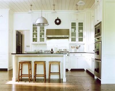 Estilo rustico cocinas blancas tradicionales for Cocinas tradicionales
