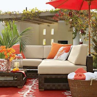 Estilo rustico patios coloridos for Decoracion de patios rusticos