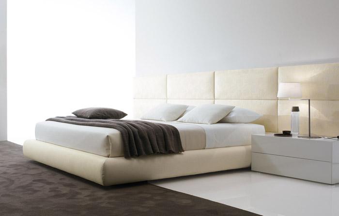 Casas minimalistas y modernas cabeceras de cama de poliform - Modelos de cabeceras de cama ...