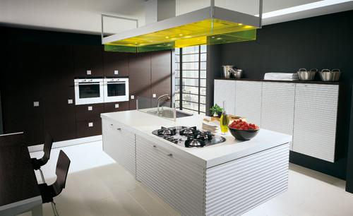 Casas minimalistas y modernas cocina isla Isla para cocina