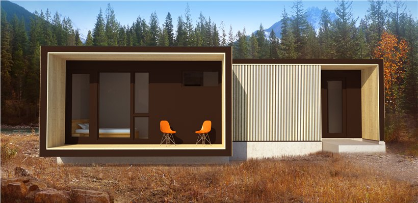 Casas minimalistas y modernas prefabricadas modernas - Casas de madera prefabricadas modernas ...