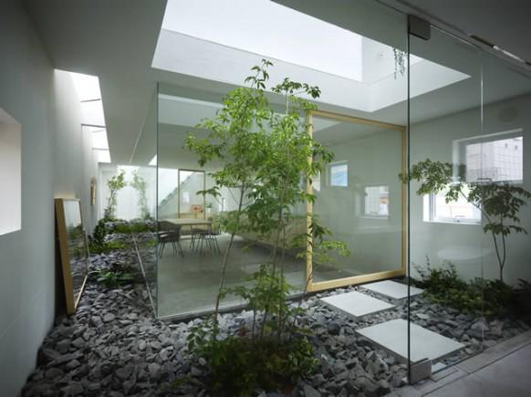 Casas minimalistas y modernas patios de luz - Fotos patios interiores ...