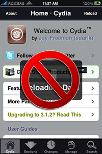 how to take off cydia
