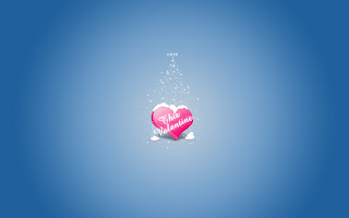 This Valentine Blue Wallpaper
