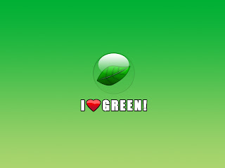 I Love Green Windows Se7en Wallpapers
